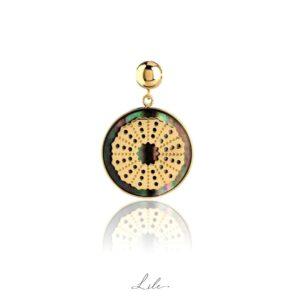 Charms z masą perłową Lile