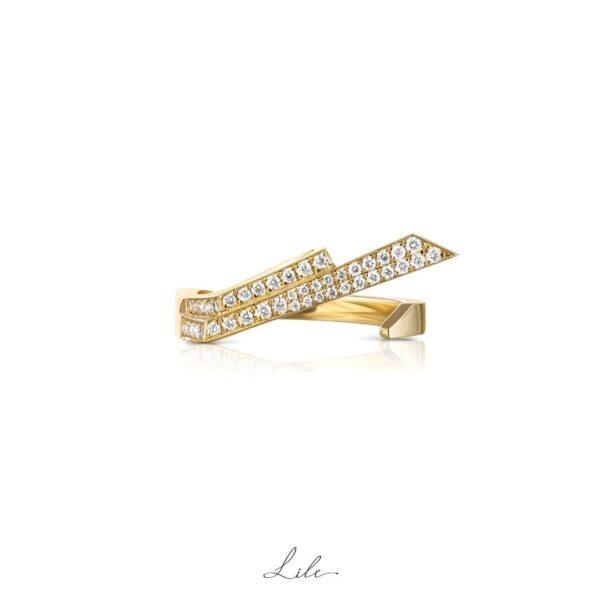 pierścionek z diamentami Lile