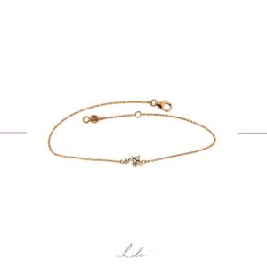 złota bransoletka z brylantami Lile