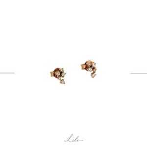 kolczyki z diamentami Lile