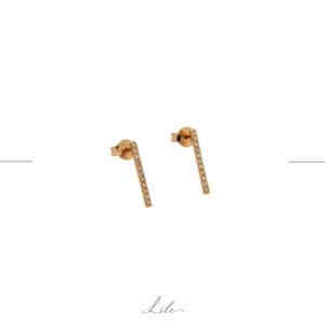 nowoczesne długie kolczyki Lile